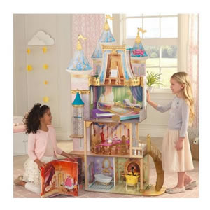 Disney Celebration, large Doll House. Inspired by Cinderella's Castle.